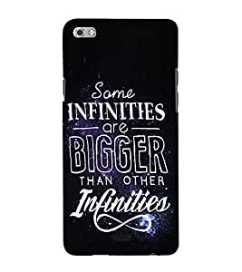 Quote 3D Hard Polycarbonate Designer Back Case Cover for Micromax Canvas Sliver 5 Q450