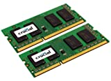 Crucial CT2KIT51264BC1067 8GB 204-PIN PC3-8500 SODIMM DDR3 (4GBx2)