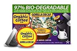 The Organic Coffee Co., Breakfast Blend, 12 OneCup Single Serve Cups made by Organic Coffee