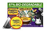 The Organic Coffee Company Decaf Gorilla Coffee, 36 OneCup Single Serve Cups