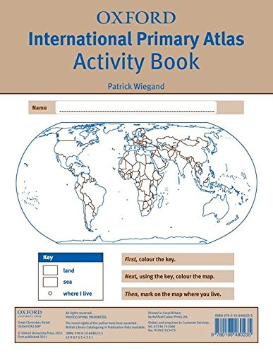 Oxford International Primary Atlas: Activity Book 2nd Edition (Oxford Primary Atlas)