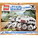 Star Wars Lego BrickMaster Exclusive Mini Building Set #20006 Clone Turbo Tank (Bagged)