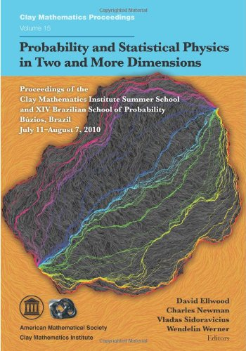 Probability And Statistical Physics In Two And More Dimensions (Clay Mathematics Proceedings)