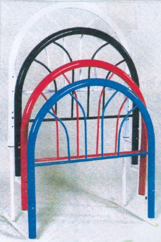 Twin Iron Bed Frame 6484 front