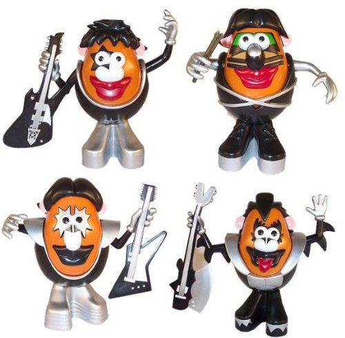 Picture of Hasbro Kiss Mr Potato Head Figure Set Of 4 (B003ATYKSQ) (Hasbro Action Figures)