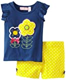 Kids Headquarters Girls 2-6X Top With Shorts Toddler