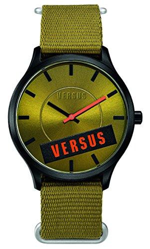 Versus - SO608 0014 - Montre Femme - Quartz - Analogique - Bracelet Tissu Vert