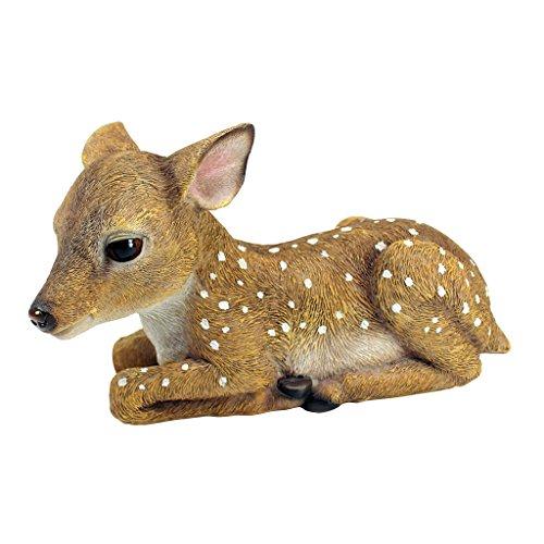 Garden Decor Deer: Design Toscano Darby, The Forest Fawn Baby Deer Statue