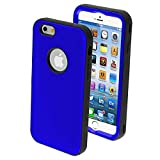 Don't wait MYBAT iPhone 6 Verge Hybrid Protector Cover – Retail Packaging – Titanium Dark Blue/Black Ads Good