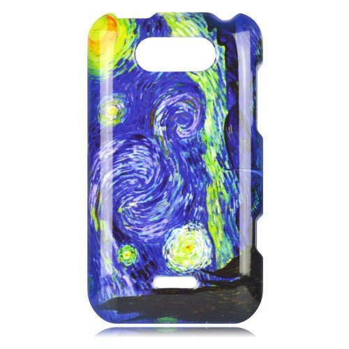 Cell Phone Case Cover Skin for LG MS770 / P870 Motion 4G (Starry Night) - MetroPCS,Cricket (Lg Ms770 Cover compare prices)