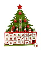 Decoracion Navideña Calendario De Adviento Navidad Árbol