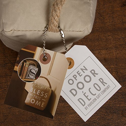 Pavilion Gift Company Open Door Decor - Teachers Open Doors to The Future Navy Door Stopper Gift