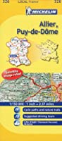Michelin Map France: Allier, Puy-de-dme 326