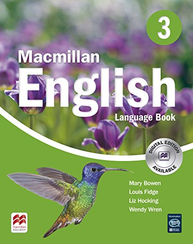 MACMILLAN ENGLISH 3 Language Book (Primary ELT Course for the Middle East)