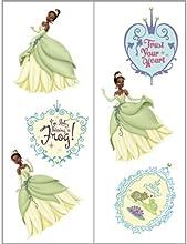 Princess and the Frog Tattoos 2 Sheets