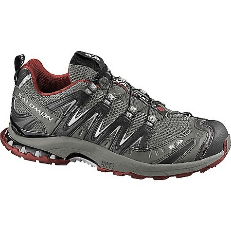Salomon Men's XA Pro 3D Ultra 2 Running Shoe,Swamp/Black/Deep Red,10.5 M US