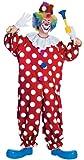 Rubie's Dotted Clown Fancy Dress (Standard)