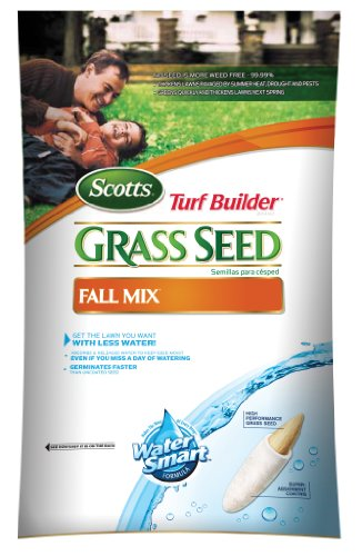 Scotts 18187 Turf Builder Fall Mix Grass Seed 3-Pound Bag