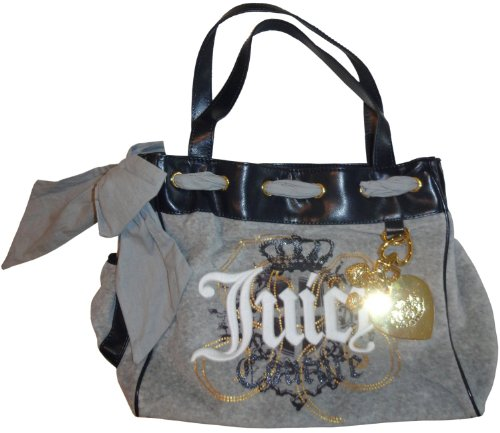 Women's Juicy Couture Purse Handbag Daydreamer Tote Grey