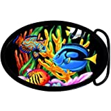 Full Color Tropical Fish Belt Buckle