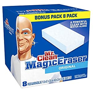 Mr. Clean Magic Eraser Cleaner Cleaning Pads - 80 ct Value Pkg