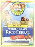 Earths Best Organic Whole Grain, Rice Cereal with Apples, 8 Ounce Box
