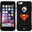 Superman - Emblem design on a Black OtterBox® Commuter Series® Case for iPhone 6 Plus
