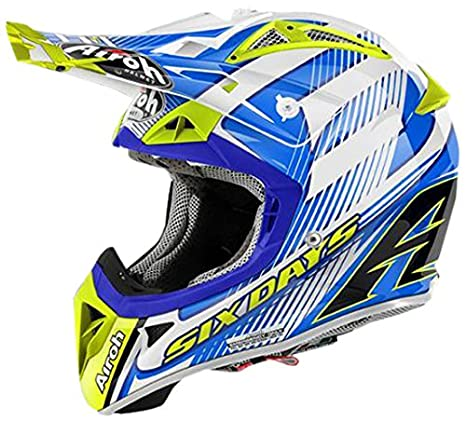 Airoh AV2SD538XS Casque Off Road, Multicolore, Taille : XS