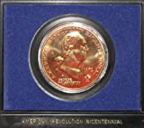 1972 Bronze Bicentennial Commemorative Medal Washington