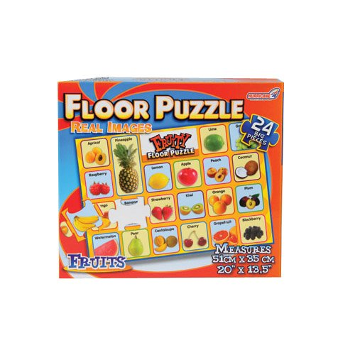Cheap Constructive Playthings Real Image Fruit Floor Puzzle (B003Y7AO70)