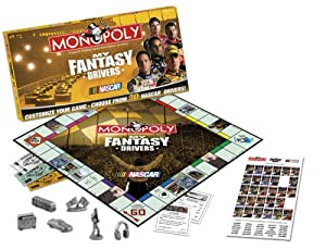 My Fantasy Drivers Monopoly NASCAR by USAopoly