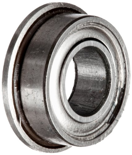 Flanged shielded stainless steel smf zz mm