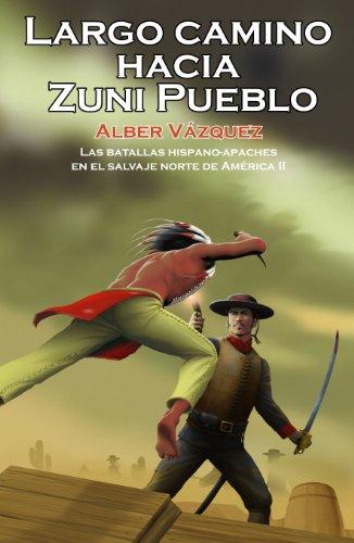 Largo Camino Hacia Zuni Pueblo
