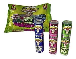 Amazon.com : Warheads Super Sour Candy Spray & Warheads ...