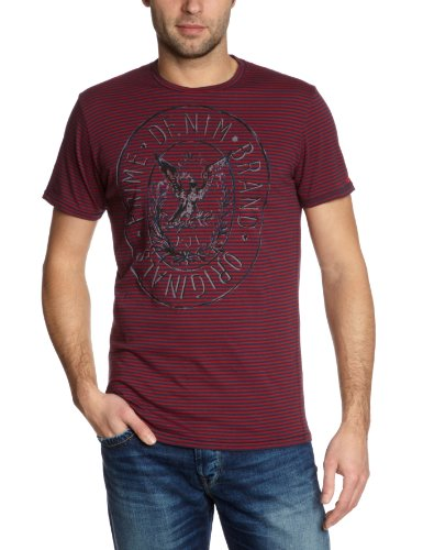 Pepe Jeans London PM501341 - Miles Printed Men's T-Shirt Forces Large