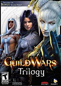 Guild Wars Trilogy with Guild War Factions, Nightfall plus Golem Hero