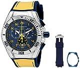 Acquista TechnoMarine TM-115070 Orologio da Polso, Display Cronografo, Uomo, Bracciale Silicone, Blu