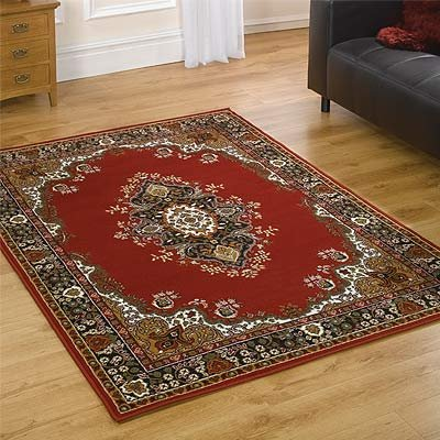 Element Lancaster Rug, Red, 180 x 250 Cm