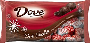 Dove Promises Silky Smooth Dark Chocolate Snowflakes, 8.87-Ounce (Pack of 4)