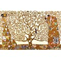 The Tree Of Life, Stoclet Frieze (1909) Gustav Klimt Art 91.5x61cm Poster