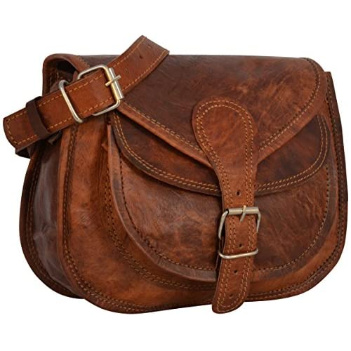 Gusti Leather Genuine Handbag Cross Body Shoulder Bag Everyday Satchel City Party Weekend Festival Bag Vintage...