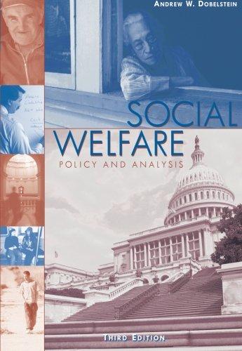 Social Welfare: Policy and Analysis (Social Welfare...