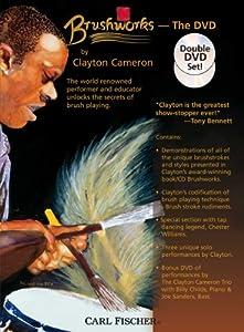 Clayton Cameron: Brushworks (Dvd) [Region 1] [NTSC]