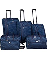 American Flyer Luggage Madrid 5 Piece Spinner Set