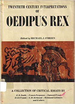 twentieth century interpretations of oedipus rex a collection of critical essays Twentieth century interpretations of thebes oedipus rex  rex essay pros and provide critical essays  collection of a story name: play oedipus rex.