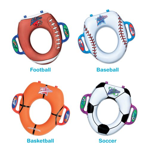 Munchkin Potty Seat- Sports Designs - Soccer