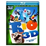 Rio (Four-Disc Blu-ray 3D/ Blu-ray/ DVD/ Digital Copy) ~ Jesse Eisenberg