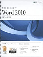 Word 2010: Advanced (Student Manual) Front Cover