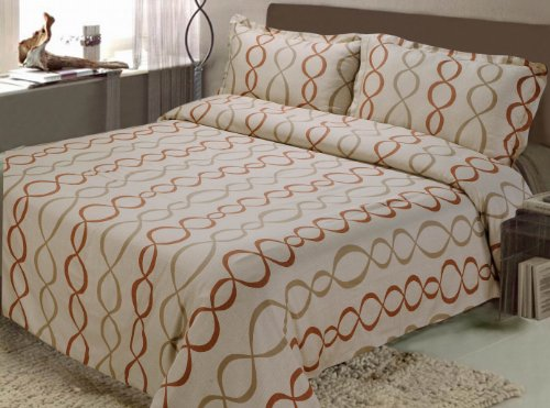 Katara 3-Piece Duvet Cover Set, Full/Queen