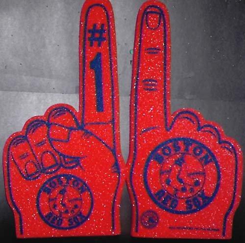 Boston Red Sox Foam Fingers Price Compare